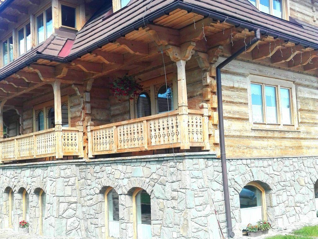 Haus im Zakopane-Stil