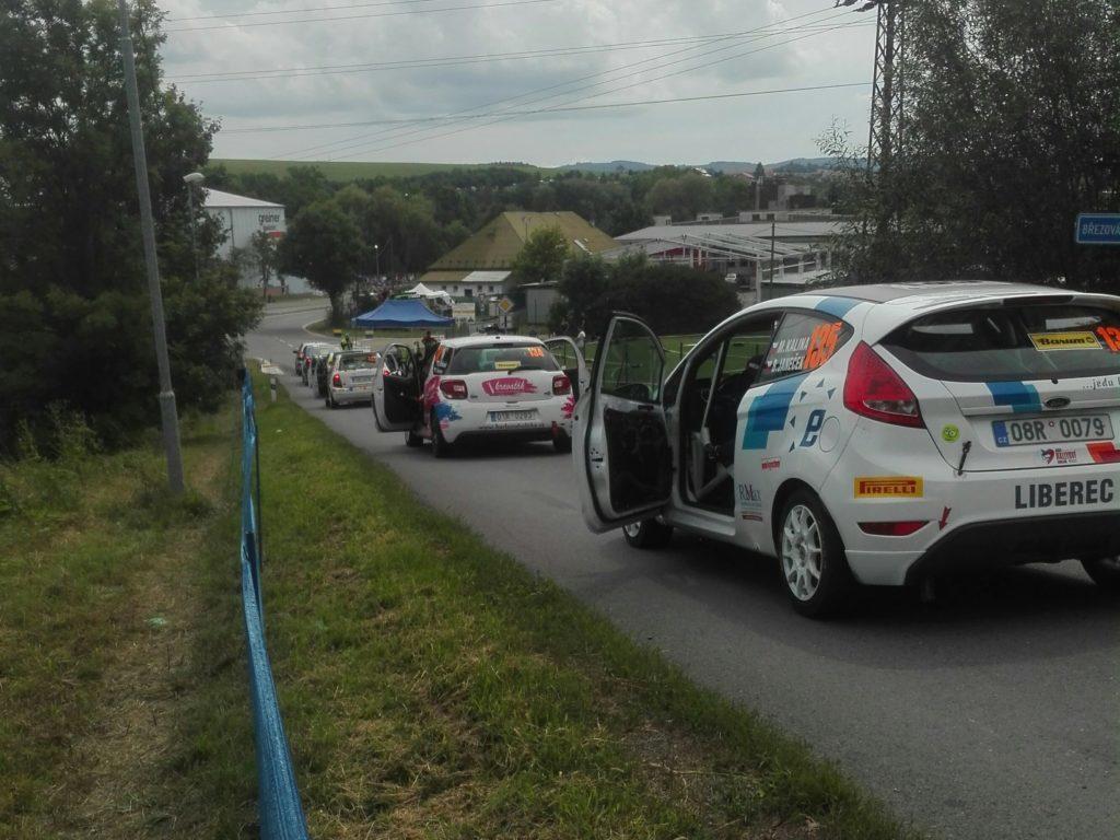 Radtour trifft Rallye-Serie