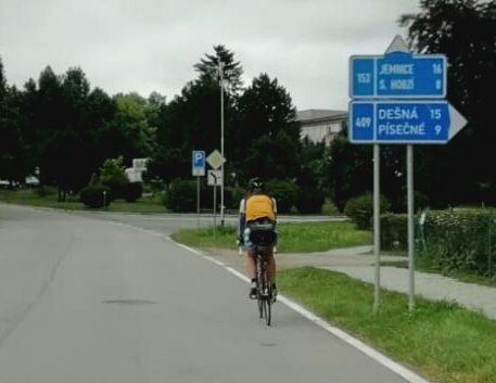 Radreise Etappe in Tschechien