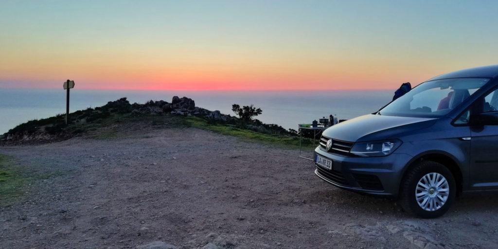 Vanlife auf Korsika
