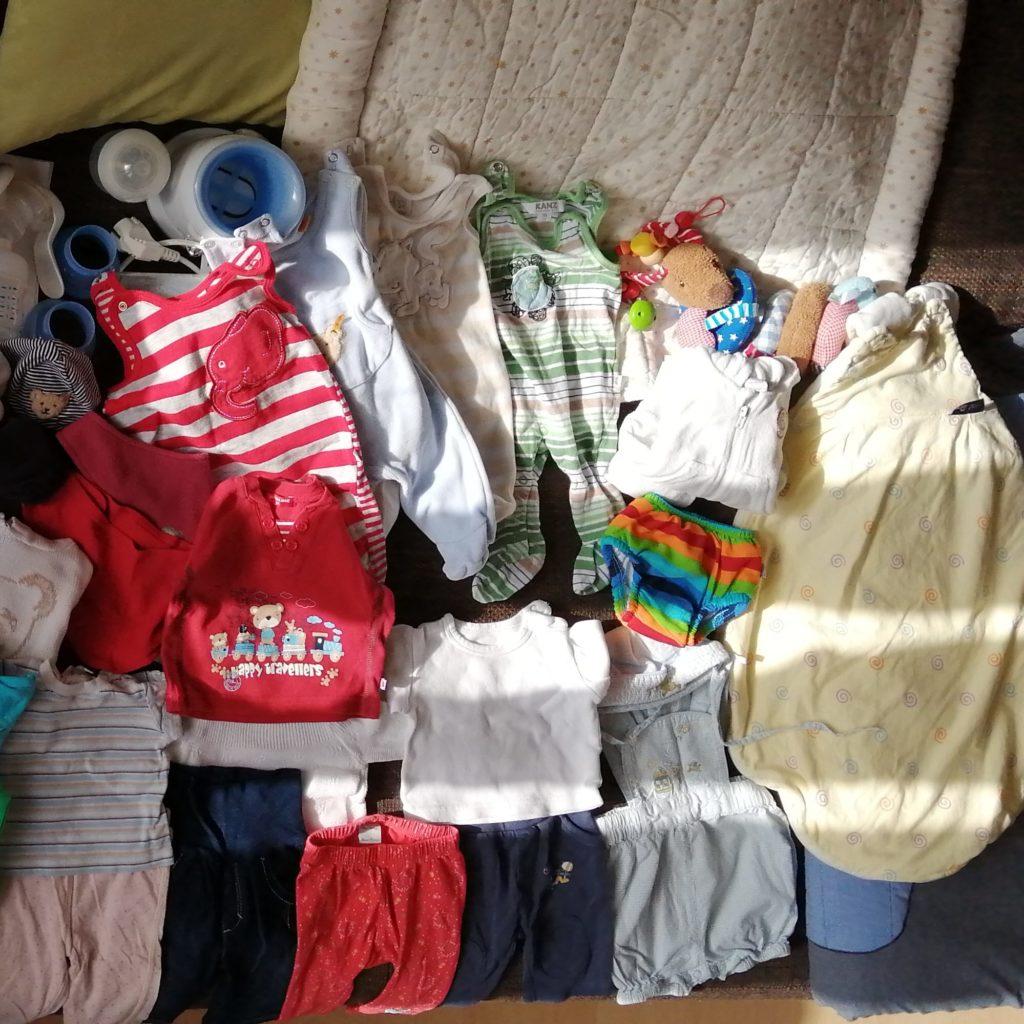 Babykleidung neu oder gebraucht